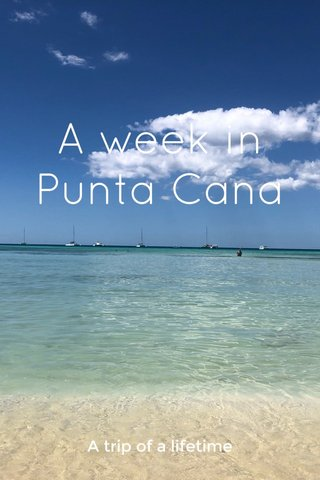 A week in Punta Cana A trip of a lifetime