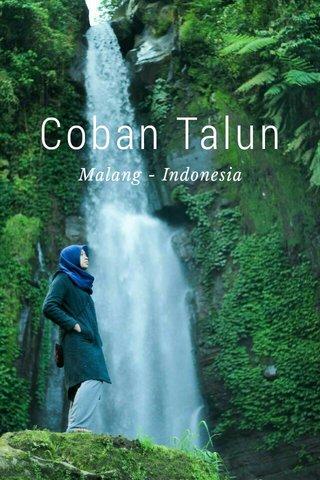 Coban Talun Malang - Indonesia