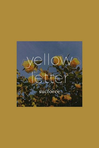 yellow letter sucforce