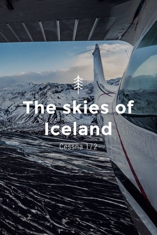The skies of Iceland Cessna 172