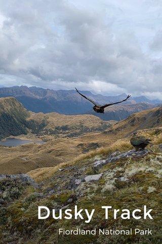 Dusky Track Fiordland National Park