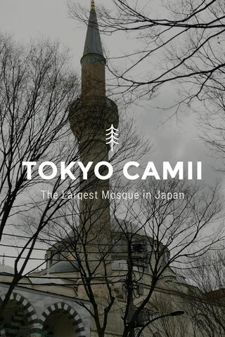 TOKYO CAMII The Largest Mosque in Japan