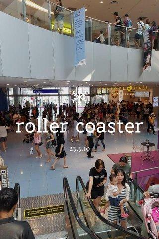 roller coaster 23.3.19