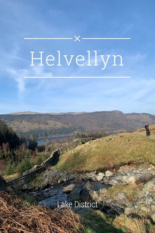 Helvellyn Lake District