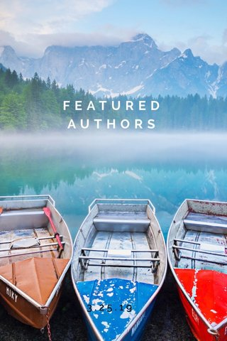 FEATURED AUTHORS 3.25.19