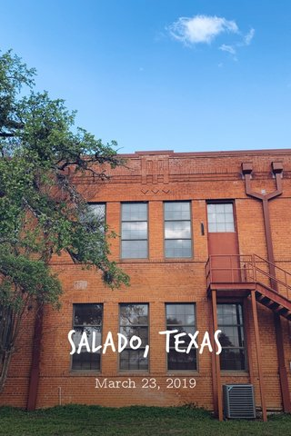SALADO, Texas March 23, 2019