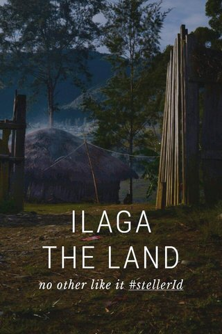 ILAGA THE LAND no other like it #stellerId