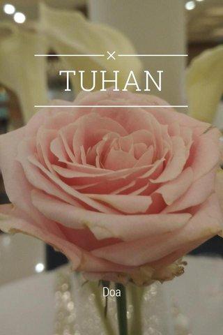 TUHAN Doa