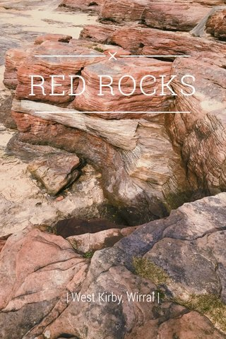 RED ROCKS | West Kirby, Wirral |