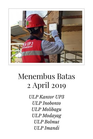 Menembus Batas 2 April 2019