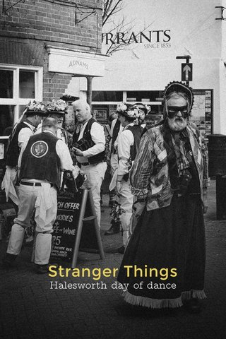 Stranger Things Halesworth day of dance