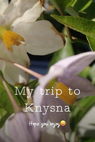 My trip to Knysna Hope you enjoy😜