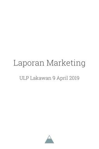 Laporan Marketing