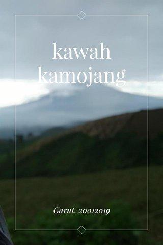 kawah kamojang Garut, 20012019