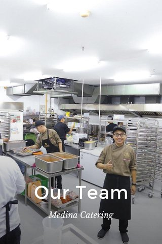 Our Team Medina Catering