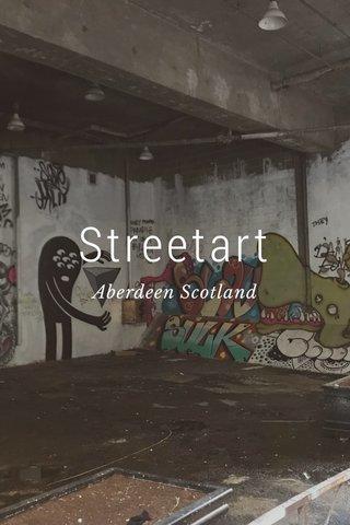 Streetart Aberdeen Scotland