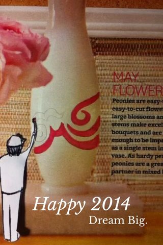 Happy 2014 Dream Big.