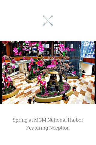 Spring at MGM National Harbor Featuring Nception