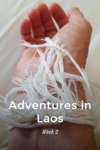 Adventures in Laos Week 2