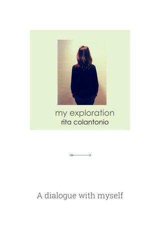 A dialogue with myself