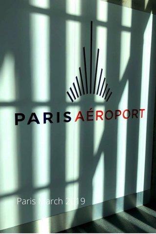 Paris March 2019