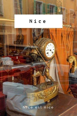 Nice Nice est nice