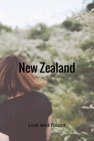 New Zealand Lost and found