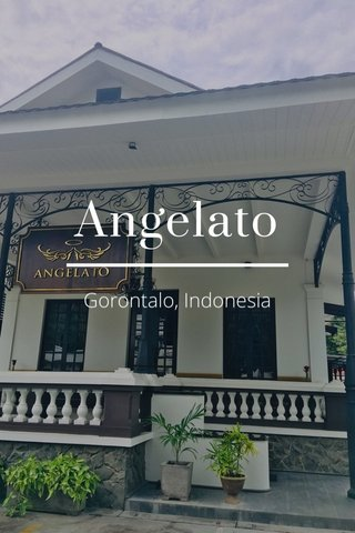 Angelato Gorontalo, Indonesia