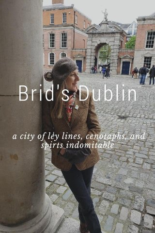 Brid's Dublin  a city of ley lines, cenotaphs, and spirts indomitable