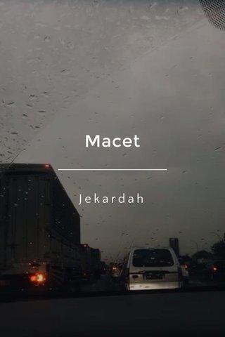 Macet Jekardah