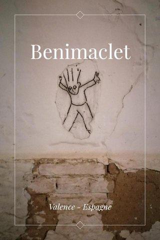 Benimaclet Valence - Espagne