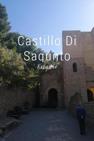 Castillo Di Sagunto Espagne