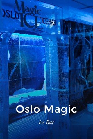 Oslo Magic Ice Bar