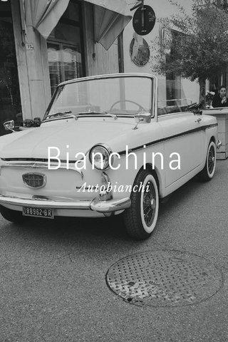 Bianchina Autobianchi