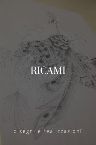 RICAMI disegni e realizzazioni