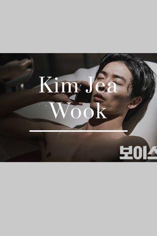Kim Jea Wook