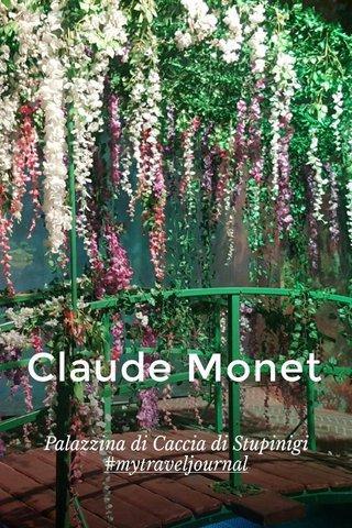 Claude Monet Palazzina di Caccia di Stupinigi #mytraveljournal