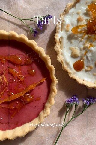Tarts Food photography