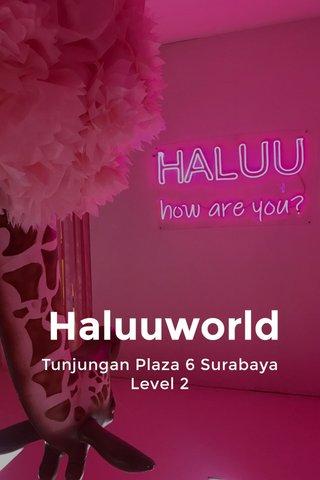 Haluuworld Tunjungan Plaza 6 Surabaya Level 2