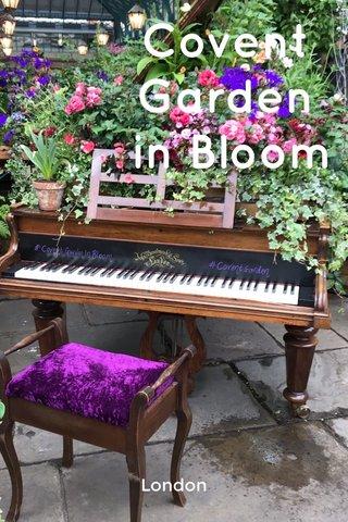 Covent Garden in Bloom London