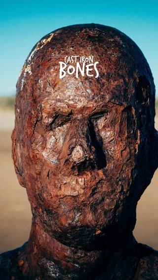 BONES cast iron