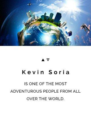 Kevin Soria