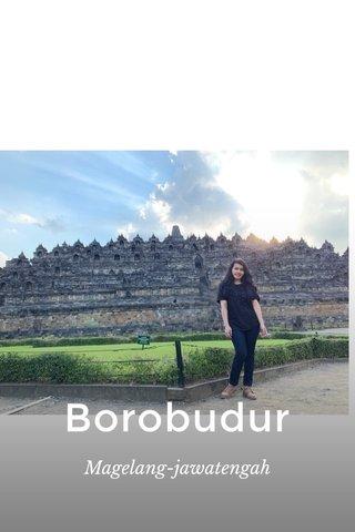 Borobudur Magelang-jawatengah