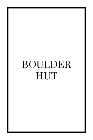 BOULDERHUT