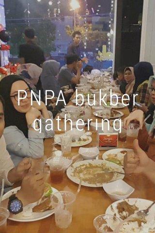 PNPA bukber gathering