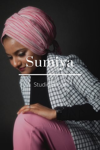 Sumiya Studio Shoot