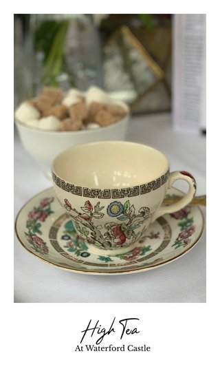 High Tea At Waterford Castle