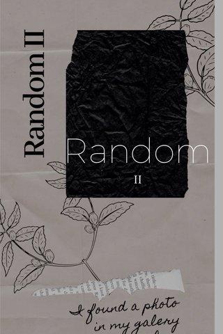 Random II