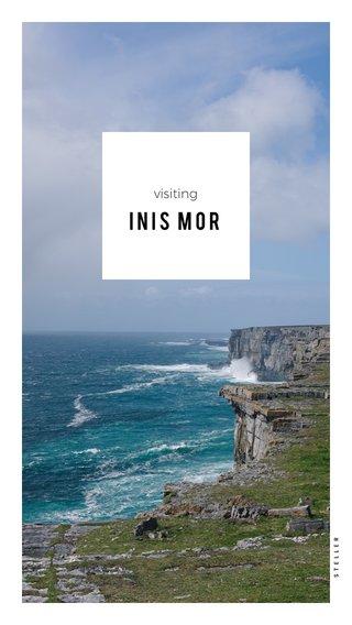 Inis Mor visiting