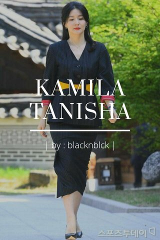 KAMILA TANISHA | by : blacknblck |